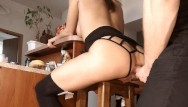 Princess toadstool sex Amateur brunette babe anal - ass fucked hard and anal toyed on a bar stool