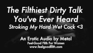 Erotic women hypnotists Stroking my cum-covered cock talking dirty erotic audio for women