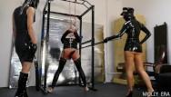 Adult latex in oregon Latex dominatrix couple punish tied up slave