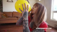 Solid latex balloons Balloon abuse balloon torture asmr