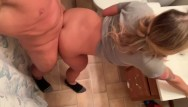 Milfs bent over Thick booty blonde bent over fucked