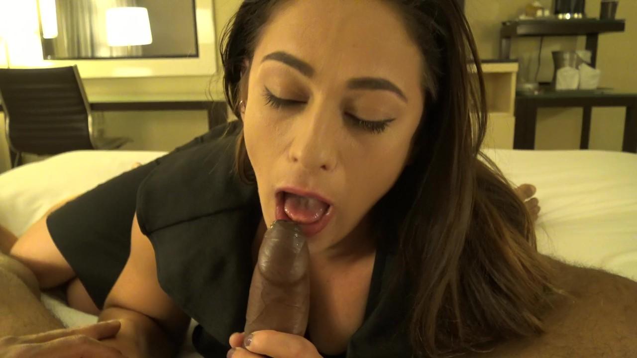 Sexy Lebanese Girl Blowjob and Fingering Habibi