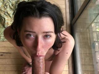 Gorgeous stepsister hot deepthroat with CIM