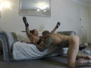 Step Brother Catches Step Sis Masturbating – Fucks Her Hard!