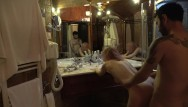 Old ladies suck cocks Mature lady fucked after shower in front of the mirror
