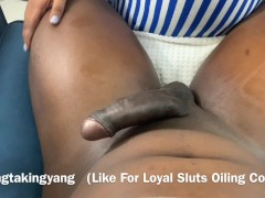 Big Ebony Man-meat Adore - Lubricant Rubdown Adaptation Part 1