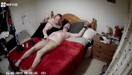 Latex post xxx Tied to bed in tights with cbt and post orgasm torment - part 1