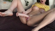 Mini asian dress Playing with fake sperm and moaning loudly - mini diva