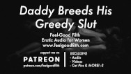 Audio adult books on tape Ddlg roleplay: daddy breeds his little slut erotic audio for women