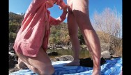 Mitchell rock nude Nude beach rock sex picnic adventure