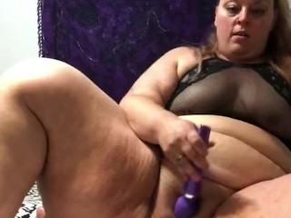Oops! PAWG/BBW just wants to ride dildo! Drops phone due to excitement!