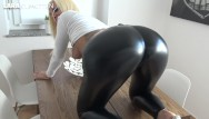 Lara bush in the nude Wetlook leggings booty fuck cumwalk and leggingswalk