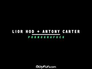 Boyfun – Twink Lior Hod Bareback Fucks The Sexy Antony Carter