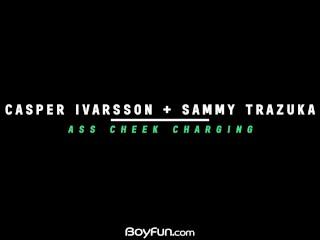 Boyfun – Horny Sammy Trazuka Gets Barebacked By Twink Casper Ivarsson
