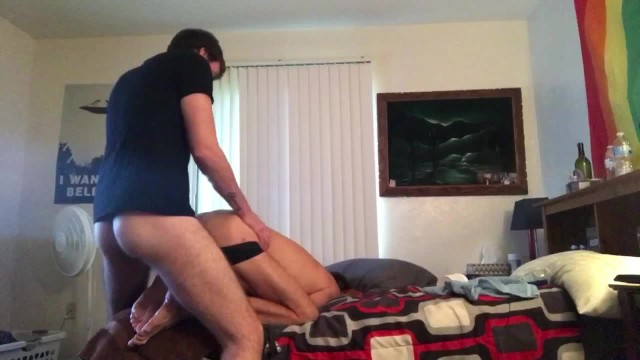 Amateur gay couple missionary fucking