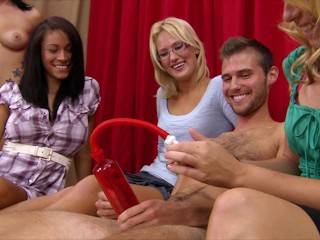 BRANDI BELLE - Amateur Dude Tries To Get Hard For Some Pussy
