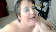 Load in her ass compilation - Amateur big tits milf takes huge load in cumshot and facial compilation