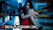 Like a virgin moulion rouge Digital playground - skinny small tit brunette jillian janson likes it roug