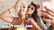 Shannon boob Reality kings - big tit raver girls michele james karissa shannon 69