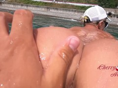 Fast Oral Pleasure And Fuck-a-thon On The Seaside / Cherryaleksa