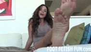 Woot porn Feet worshiping and femdom foot fetish porn
