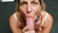 Huge cock on milf Mature schoolgirl daizy layne deepthroats,swallows,sucks a huge cock ..pov