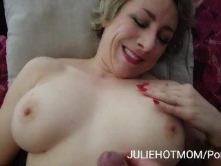 holidays with stepmom 3 – deep anal and facial cumshot for mom