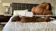 Girls riding big dicks Ms london shows you how to ride a big black dick reverse cow girl