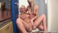 Hot blond lesbian fingering - Finger play
