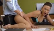 Anal relations Loan4k. brunette a des relations sexuelles contre de largent pour la premi