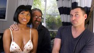 Xxx ebony first anal Jenna foxx experiences dp for the first time