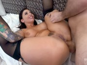 BANG Surprise - Tattooed Ivy Libelle in Sexy Lingerie Fucked Anal