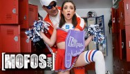 Wild nude cheerleaders Mofos - petite cheerleader jane wilde gets fucked in locker room