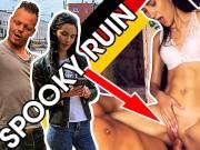 HITZEFREI.dating PUBLIC Teen MEGAN VENTURI Banged in TAXI & SPOOKY RUIN