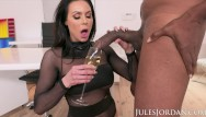Jordan capri strip Jules jordan . - big tit milf star kendra lust has a bbc celebration