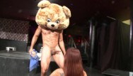 Dancing women mature Dancing bear - big dick male strippers getting sucked off by horny women