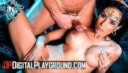Miley cyrus xxx Digital playground - big tit alien tia cyrus takes big cock