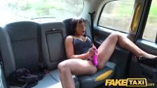 Fake Taxi Ebony hot horny babe Lola Marie tests cabbies stamina