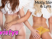 Twistys- Angelic ginger and blonde lesbians Lyra Law and Molly Stewart