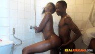 H african girls nude Sexy african girl fucked in the shower