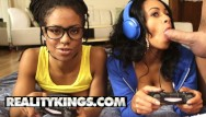 Naked ivy league girls - Reality kings - ebony gamer girls anya ivy kira noir play with white joy