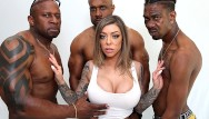 Rx facial skin Karma rx gets all her holes pounded by bbc