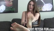 Sex with foot video Foot fetish femdom and pov toe sucking videos
