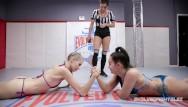 Hairy arm latin girls Lesbian arm wrestling with sexy porn stars