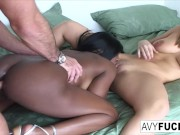 Threesome With Jada Fire