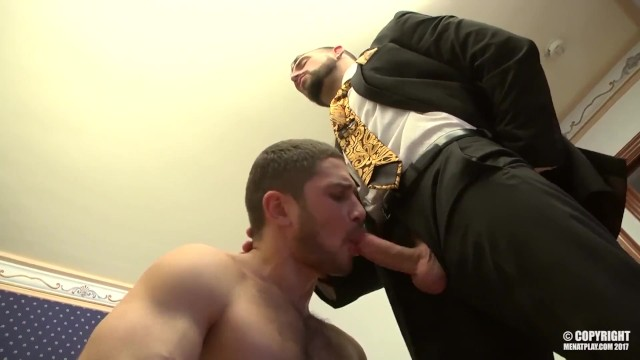 masculine stud enzo rimenez finally gets juicy big cock deep inside his ASS