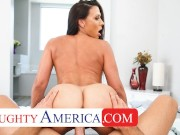 Naughty America Rachel Starr pov fuck session with husband