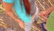 Field strip the kel-tec pf9 Cum in my panties in a sunflower field
