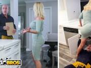 BANGBROS - Busty MILF Nikki Benz Drops Her Big Ass On Maintenance Man