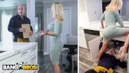 Price drop tv busty presenter Bangbros - busty milf nikki benz drops her big ass on maintenance man